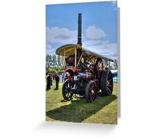Steam Engine 3 Greeting Card