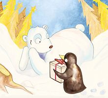 Christmas Bear by Sophie Grunnet
