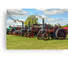 Steam Engines Galore Canvas Print