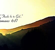 """""""Thanks be to God"""" by 4TheGlryOfGod"""