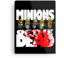 zombie minions of the dead Metal Print