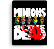zombie minions of the dead Canvas Print