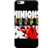 zombie minions of the dead iPhone Case/Skin
