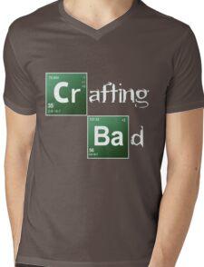 Crafting Bad Mens V-Neck T-Shirt
