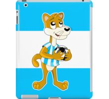 Cute cartoon puma  iPad Case/Skin