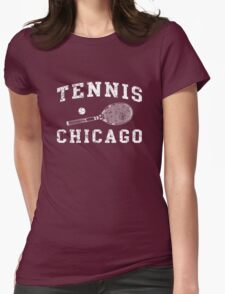 Tennis Chicago Womens Fitted T-Shirt