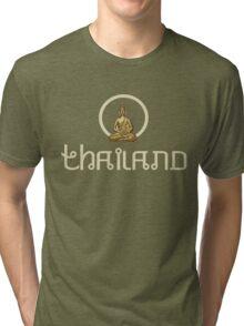Thailand Buddhist Tri-blend T-Shirt