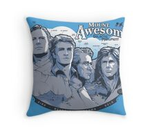 Mt. Awesome Throw Pillow