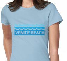 Venice Beach Ocean Womens Fitted T-Shirt