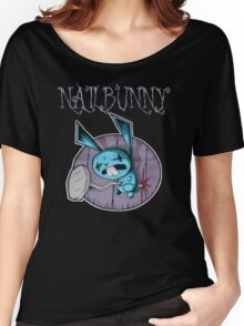 johnny the homicidal maniac nail bunny jthm Women's Relaxed Fit T-Shirt