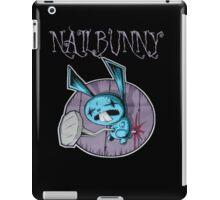 johnny the homicidal maniac nail bunny jthm iPad Case/Skin