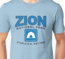 Zion National Park Camping Unisex T-Shirt
