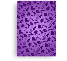 Warehouse 13 Case (Purple) Canvas Print