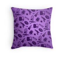 Warehouse 13 Case (Purple) Throw Pillow