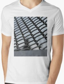 Fence Mens V-Neck T-Shirt