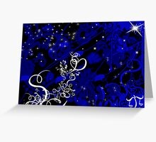 Blue Ribbon, Lovely Libra Greeting Card