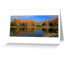 October colours Greeting Card