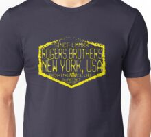 boxing ny by rogers brothers Unisex T-Shirt
