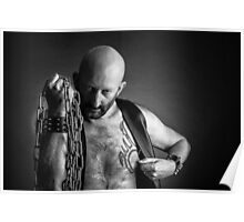 Troy T. Scott - Leather & Chains Troy Poster