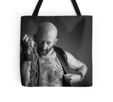 Troy T. Scott - Leather & Chains Troy Tote Bag