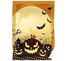 Alit Pumpkins Gone Batty Poster