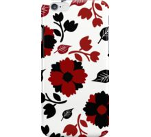 leaves and flowers iPhone Case/Skin