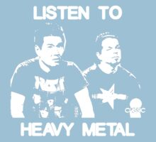 Listen To Heavy Metal Kids Clothes