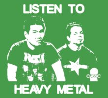 Listen To Heavy Metal One Piece - Short Sleeve