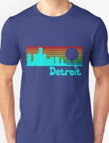 80's Retro Detroit (Distressed Design) T-Shirt
