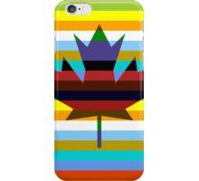 Canada Maple Leaf Pop Art iPhone Case/Skin