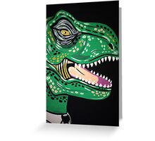 T-Rex hates Mondays too. Greeting Card