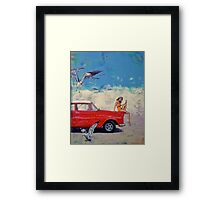 Bang Soda and more birds than you can poke a stick at. Framed Print