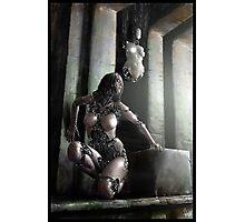 Cyberpunk Photography 066 Photographic Print