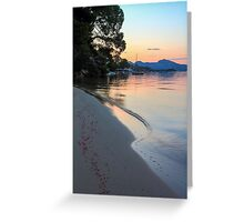 Ahhh!! Port de Pollensa Greeting Card