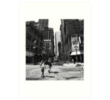 Lower Manhattan Serenade Art Print