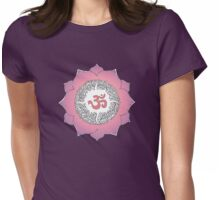 Aum 5 Womens Fitted T-Shirt