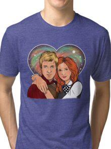 Heart Shaped Universe Tri-blend T-Shirt