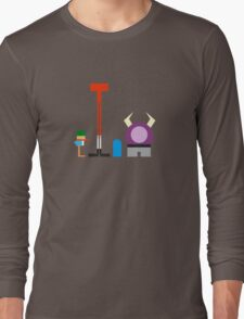 Minimalist Foster's Home for Imaginary Friends Long Sleeve T-Shirt
