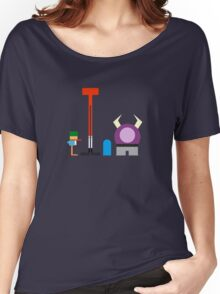 Minimalist Foster's Home for Imaginary Friends Women's Relaxed Fit T-Shirt