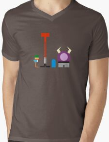 Minimalist Foster's Home for Imaginary Friends Mens V-Neck T-Shirt