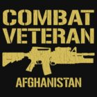 Combat Veteran Afghanistan (Distressed) by robotface