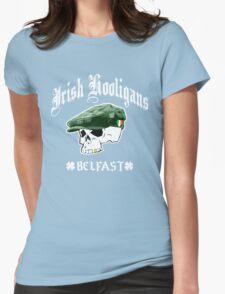 Irish Hooligans - Belfast, Ireland (Distressed Design) Womens Fitted T-Shirt