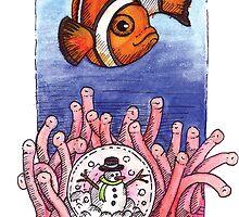 kmay xmas clown fish by Katherine May