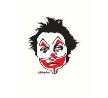Why So Sad, Clown? Art Print