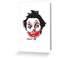 Why So Sad, Clown? Greeting Card