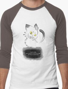 The Cryptic Cat, The Judge Men's Baseball ¾ T-Shirt