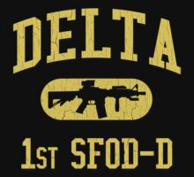 US Army Delta Force (Distressed Design) by robotface
