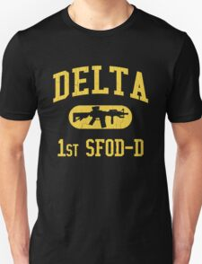 US Army Delta Force (Distressed Design) T-Shirt