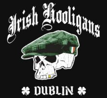 Irish Hooligans, Dublin (Vintage Distressed) by robotface