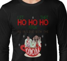Getting gifts from Santa Claus at the North Pole! Long Sleeve T-Shirt